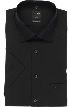 Olymp Luxor Modern Fit Overhemd Korte mouw , Effen