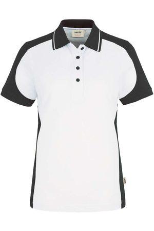 HAKRO 239 Regular Fit Dames Poloshirt /antraciet, Effen