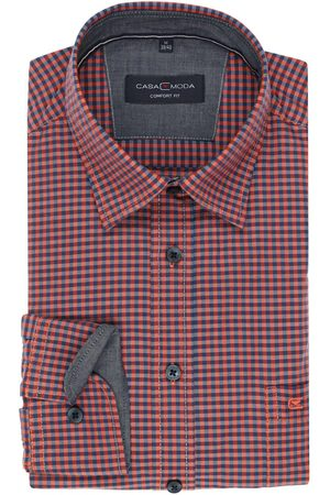 Casa Moda Casual Comfort Fit Overhemd / , Ruit