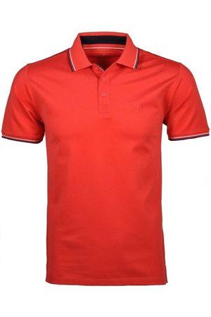 Ragman Regular Fit Polo shirt Korte mouw pompelmoes, Effen