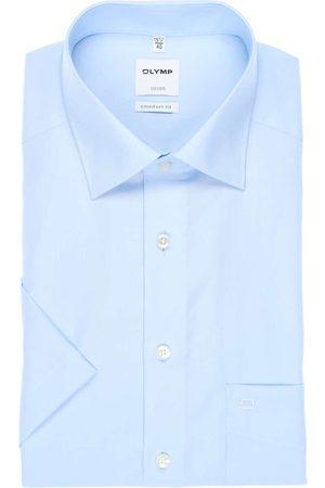 Olymp Luxor Comfort Fit Overhemd Korte mouw , Effen