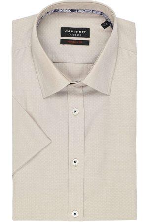 Jupiter Modern Fit Overhemd Korte mouw , Faux-uni