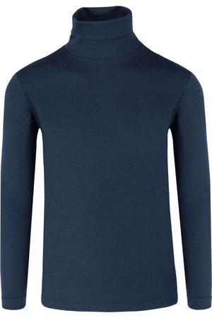 DESOTO Slim Fit Turtleneck shirt , Effen