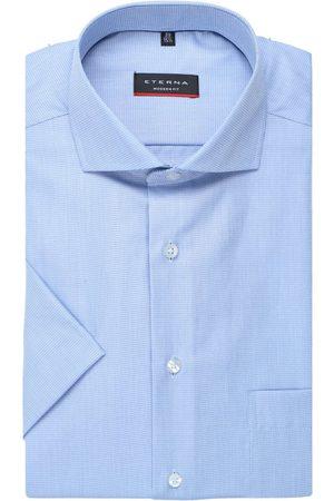 ETERNA Modern Fit Overhemd Korte mouw , Gestructureerd