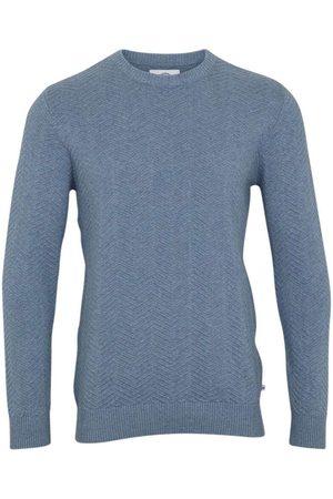 Kronstadt Heren Lange mouw - Carlo Tailored Fit Sweatshirt ronde hals , Effen