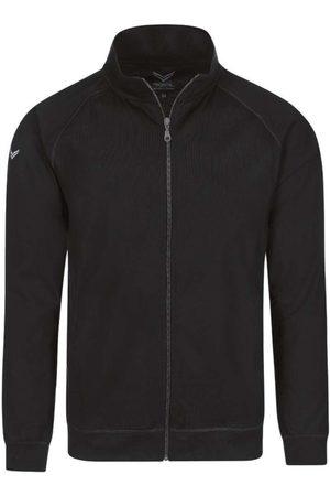 Trigema Comfort Fit Sweatjacket , Effen