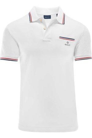 GANT Regular Fit Polo shirt Korte mouw , Effen