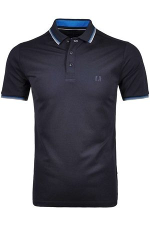 Ragman Regular Fit Polo shirt Korte mouw marine, Effen