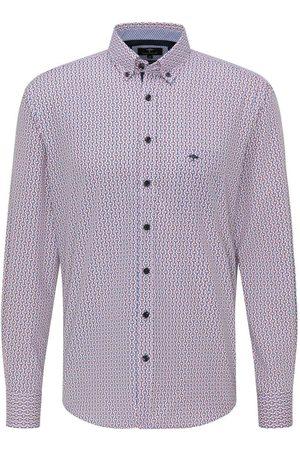 Fynch-Hatton Casual Fit Overhemd / , Motief