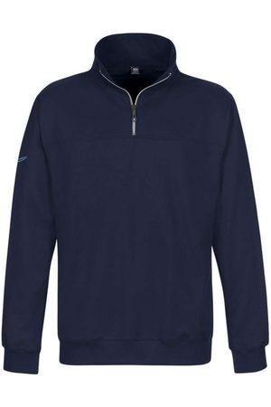 Trigema Comfort Fit Sweatshirt ritssluiting, Effen