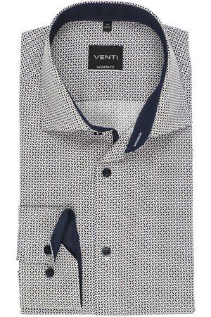 Venti Modern Fit Overhemd , Motief