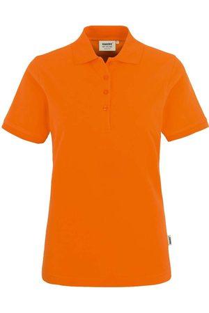 HAKRO 110 Regular Fit Dames Poloshirt , Effen