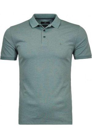 Ragman Regular Fit Polo shirt Korte mouw salie, Effen