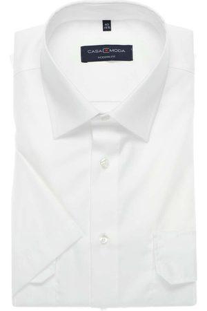 Casa Moda Modern Fit Piloot shirt Korte mouw , Effen