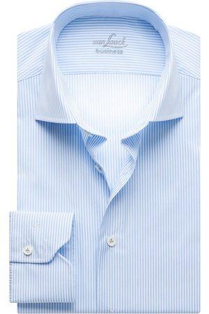 Van Laack Slim Fit Overhemd lichtblauw, Gestreept