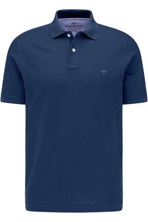 Fynch-Hatton Casual Fit Polo shirt Korte mouw nachtblauw, Effen