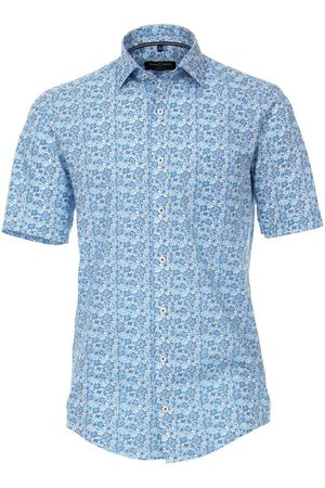 Casa Moda Casual Fit Overhemd Korte mouw , Motief