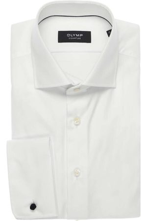 Olymp Tailored Fit Overhemd , Effen