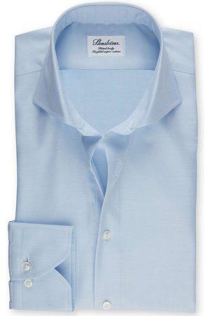 Stenströms Fitted Body Overhemd lichtblauw, Effen
