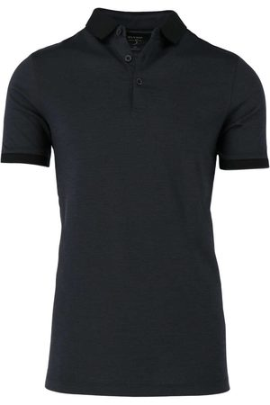 Olymp Level Five Casual Body Fit Polo shirt Korte mouw antraciet, Effen