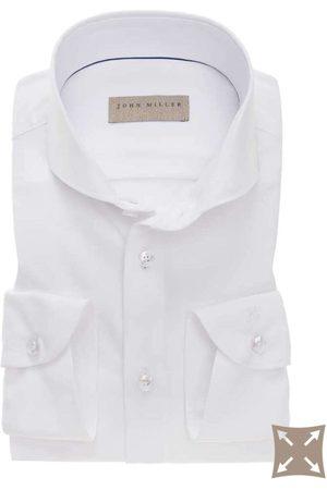 john miller Slim Fit Overhemd , Effen