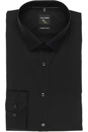 Olymp No. Six Super Slim Overhemd , Effen