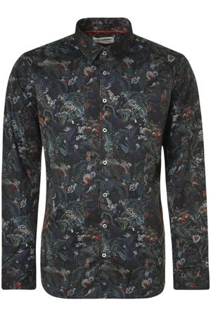 No Excess Modern Fit Overhemd veelkleurig, Motief
