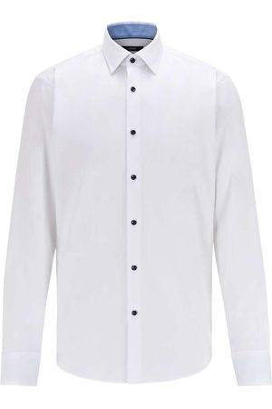 HUGO BOSS Gorax Regular Fit Overhemd , Effen