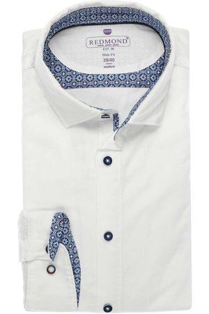 Redmond Slim Fit Overhemd , Effen