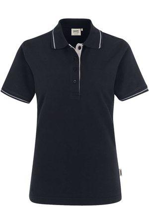 HAKRO 203 Regular Fit Dames Poloshirt / , Tweekleurig