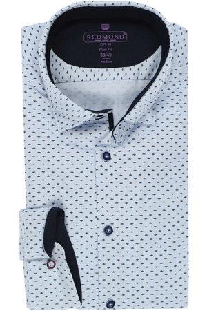 Redmond Slim Fit Overhemd , Motief