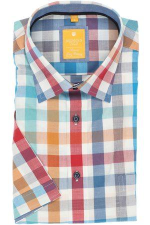 Redmond Casual Modern Fit Overhemd Korte mouw / / , Ruit