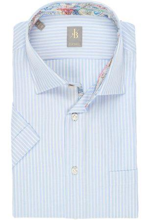 Jacques Britt Custom Fit Overhemd Korte mouw / , Gestreept