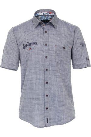 Casa Moda Casual Casual Fit Overhemd Korte mouw , Effen