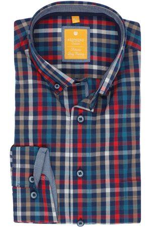 Redmond Casual Modern Fit Overhemd / , Ruit