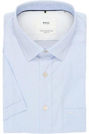 Brax Comfort Fit Overhemd Korte mouw / , Motief