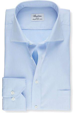 Stenströms Classic Fit Overhemd lichtblauw, Effen