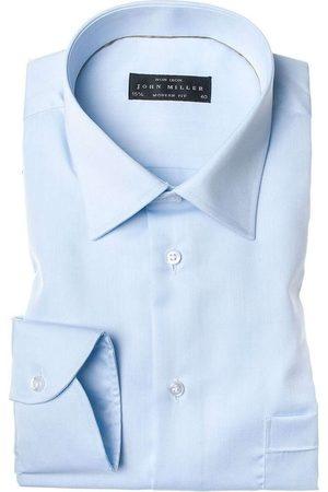 john miller Modern Fit Overhemd , Effen