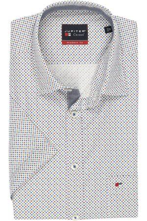 Jupiter Casual Modern Fit Overhemd Korte mouw veelkleurig, Stippen