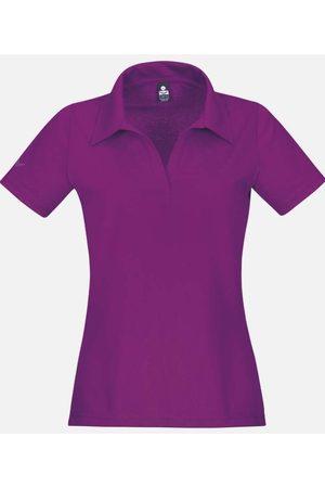 Trigema Slim Fit Dames Poloshirt , Effen