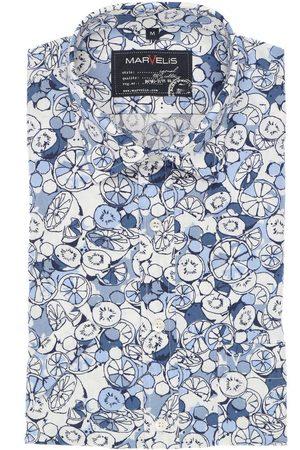 Marvelis Casual Modern Fit Overhemd Korte mouw , Motief