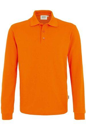 HAKRO 815 Comfort Fit Poloshirt lange mouw , Effen