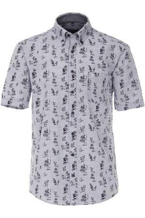 Casa Moda Casual Casual Fit Overhemd Korte mouw , Motief