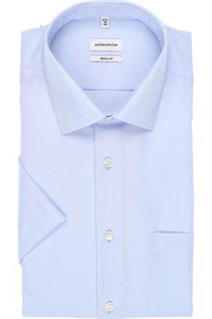 Seidensticker Regular Fit Overhemd Korte mouw , Effen