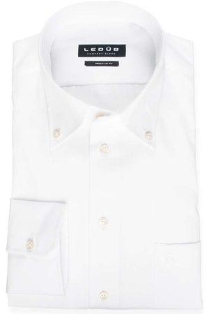 Ledub Regular Fit Overhemd , Effen
