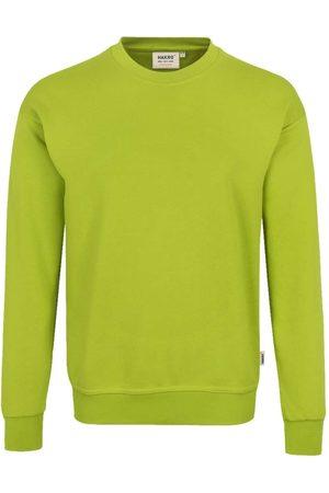 HAKRO 475 Comfort Fit Sweatshirt ronde hals kiwi, Effen