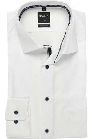 Olymp Luxor Modern Fit Overhemd , Faux-uni