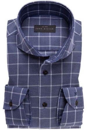 john miller Tailored Fit Overhemd marine