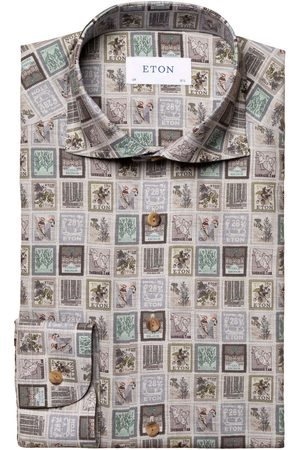 Eton Slim Fit Overhemd , Motief