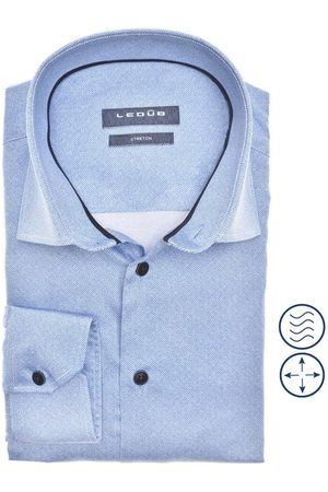 Ledub Modern Fit Overhemd , Effen